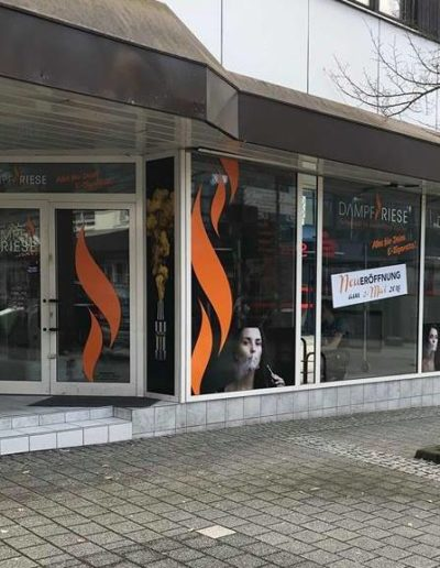 Dampf Riese Ladengeschäft Westerburg